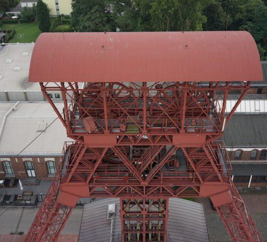 Photogrammetrie Falcon Flugroboter Oktokopter 3D-Vermessung Aufmaß Inspektion Dokumentation Moers NRW