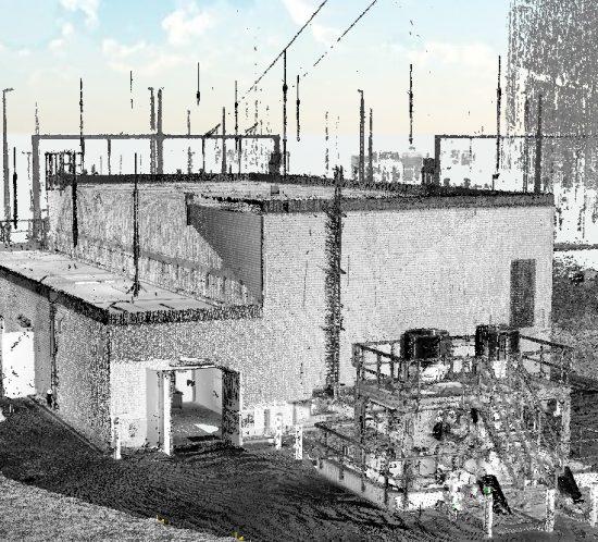 Photogrammetrie 3D-Laserscanning 3D-Vermessung Aufmaß Punktwolke GDRM Gasanlage Technische Anlage Moers Düsseldorf NRW