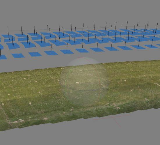Photogrammetrie 3D-Vermessung Aufmaß Flächenvermessung Geländevermessung Maodell Moers Niederrhein NRW
