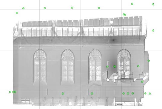 3D-Laserscanning Photogrammetrie 3D-Vermessung Aufmaß Punktwolke Modell Kirche Architektur Duisburg NRW