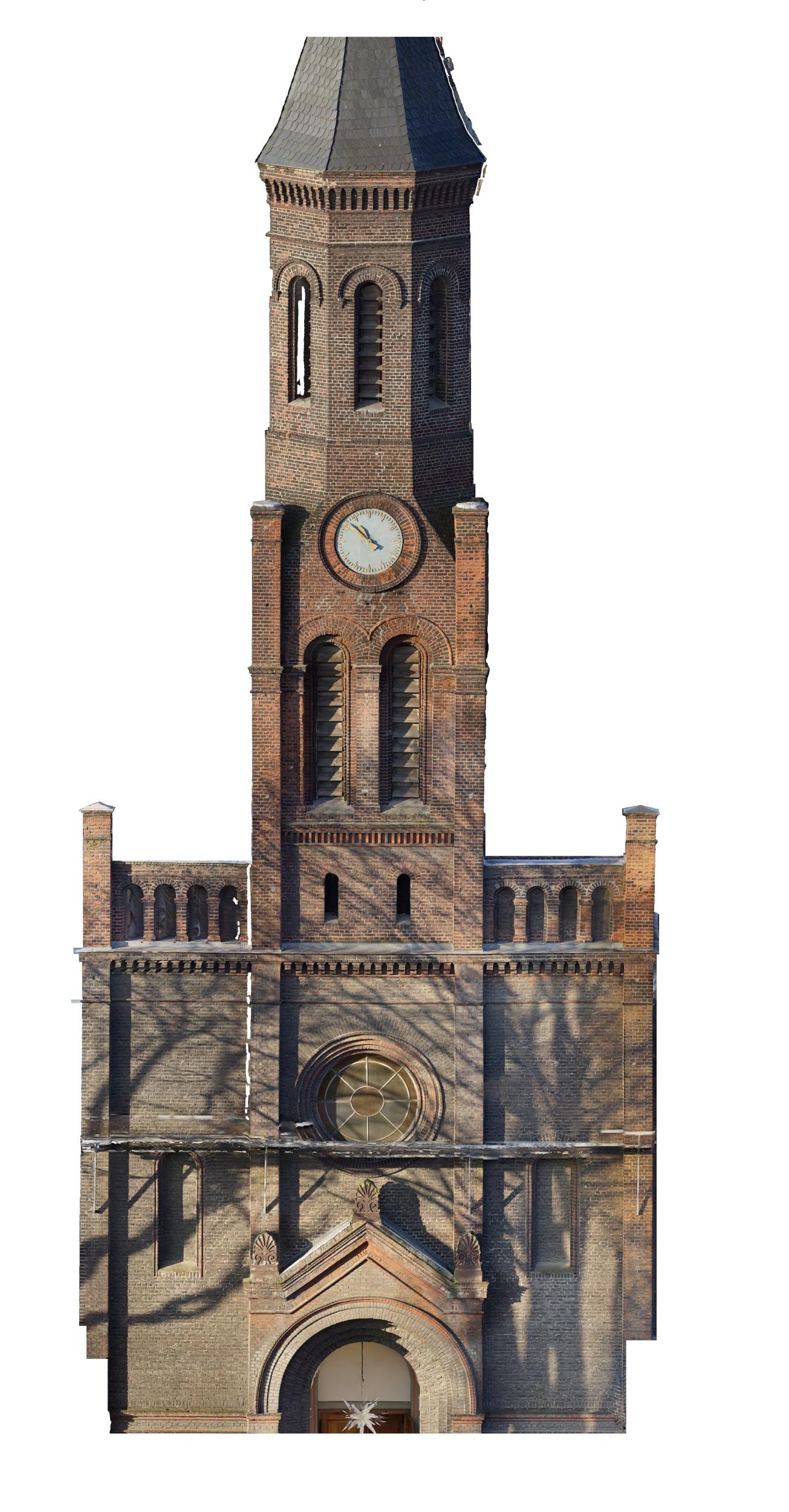 3D-Laserscanning Photogrammetrie 3D-Vermessung Aufmaß Bauwerksdokumentation Architektur Duisburg NRW