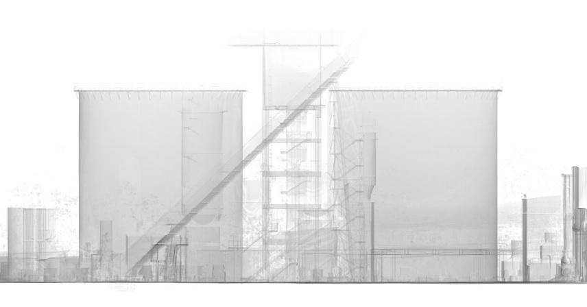 3D-Laserscanning 3D-Vermessung Aufmaß 3D-Modell Industrieanlage Silo Moers NRW