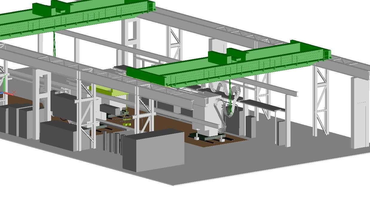 3D-Laserscanning 3D-Vermessung Aufmaß Industrievermessung 3D-Modell Moers NRW