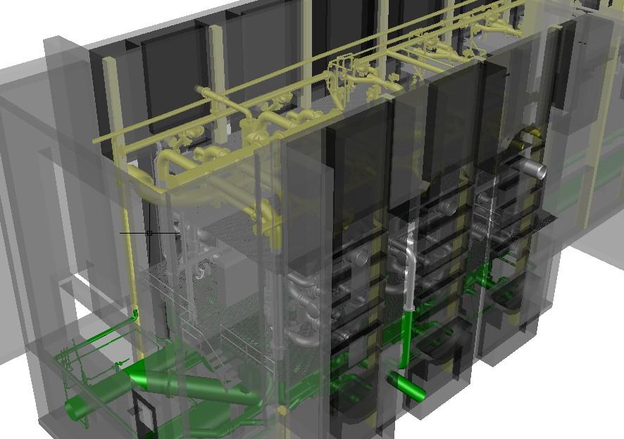 3D-Laserscanning 3D-Vermessung Aufmaß 3D-Modell Wasserwerk Filterkammer Moers Wuppertal NRW